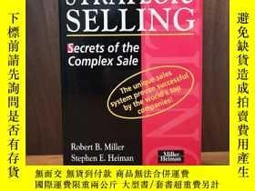 二手書博民逛書店Strategic罕見Selling: Secrets of t