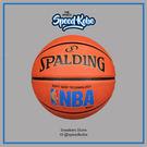 SPALDING 籃球 NBA SGT 深溝 柔軟膠 橘 藍標 室外 7號球 SPA83192【SP】