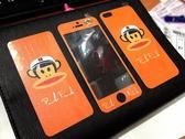 【世明國際】出清99 iPhone5/5s 彩繪 造型 鋼化玻璃膜 強化玻璃保護貼 i5/5s 雙面 邊框 前後 防爆