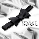 免運 滿額享折扣 情趣商品 BDSM Fifty Shades Darker 格雷的五十道陰影2-束縛 情趣綑綁 柔滑蝴蝶領結