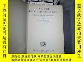 二手書博民逛書店CRY罕見THE BELOVED COUNTRY(精裝 外文原版