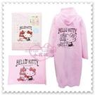 ♥小花花日本精品♥ Hello Kitty 成人雨衣 粉色 坐姿 側坐 蝴蝶結 附專屬 收納提袋 (預購)