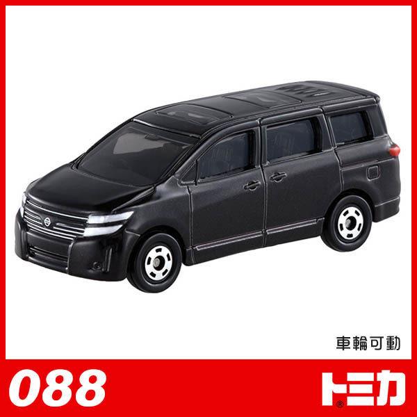 《TOMICA火柴盒小汽車》TM088 NISSAN ELGRAND╭★ JOYBUS玩具百貨