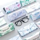 折疊眼鏡盒女復古文藝便攜太陽眼睛墨鏡盒【古怪舍】