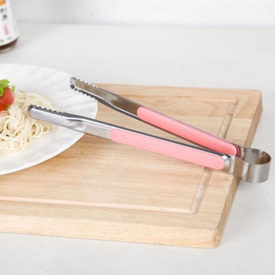 加厚不鏽鋼多功能夾 食物 烤肉 廚房 工具 甜點 牛排 沙拉 烹飪 料理 蛋糕 【L127-2】MY COLOR