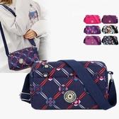 斜背包 媽媽斜挎小包帆布夏天四層輕便中年女士小挎包時尚老年人買菜布包