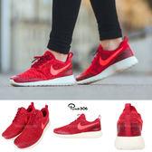 【五折特賣】Nike 休閒慢跑鞋 Wmns Roshe One Flyknit 編織 運動鞋 紅 白 女鞋【PUMP306】 704927-601