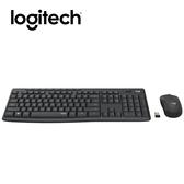 Logitech羅技 MK295 無線靜音鍵鼠組 (石磨灰)