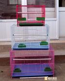 鳥籠金屬鳥籠鴿子相思鳥籠子鸚鵡籠兔子籠通用鳥籠群籠繁殖籠WY 快速出貨