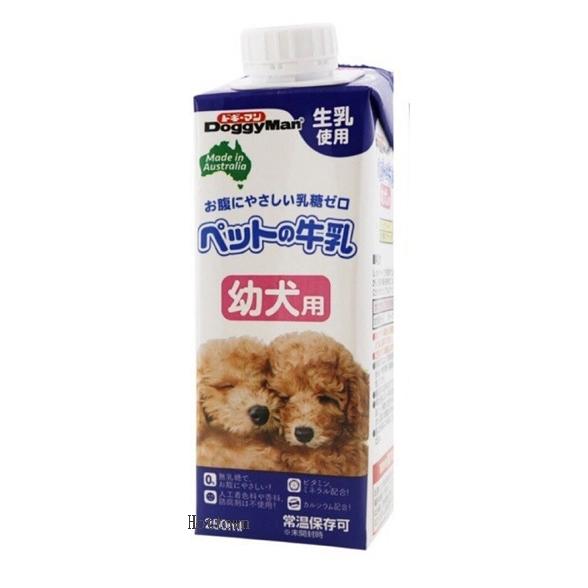 【寵愛家】日本DoggyMan-澳洲犬用牛奶250ml