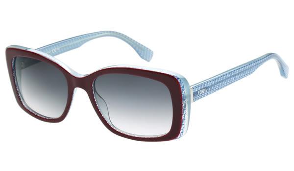 Fendi -時尚太陽眼鏡(深紅色)