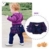 嬰幼兒蓬蓬裙 / 紫藍色蛋糕褲裙- 美國RuffleButts