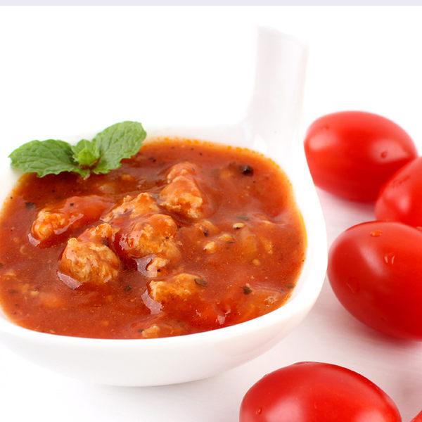 【日燦】(不含牛肉)芳香美味~豬肉蕃茄紅醬★230公克/包