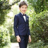 禮服 男童西裝鋼琴禮服套裝兒童演出服igo 晶彩生活