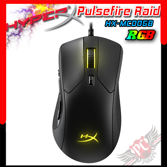 [ PC PARTY ] 金士頓 KINGSTON HyperX Pulsefire Raid 電競滑鼠