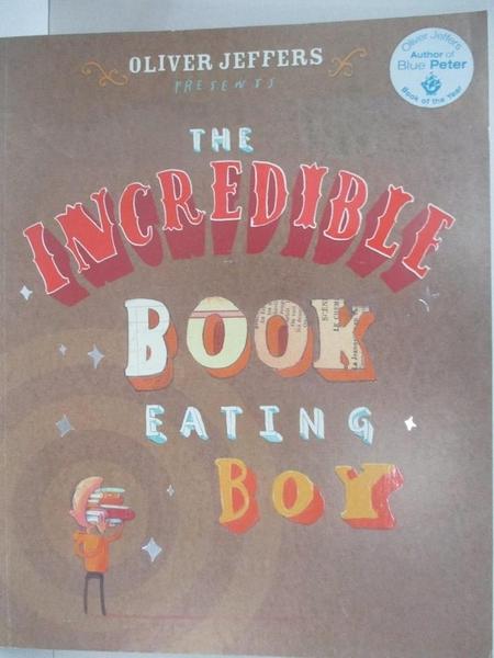 【書寶二手書T3/少年童書_DRO】The Incredible Book Eating Boy_Oliver Jeffers