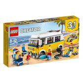 LEGO 樂高 Creator 創意系列 31079 陽光衝浪手廂型車 【鯊玩具Toy Shark】
