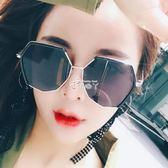 時尚太陽鏡女韓版潮復古原宿風墨鏡網紅眼鏡圓臉防紫外線 俏腳丫