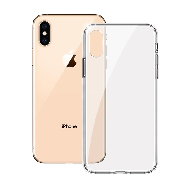ACEICE for iPhone XS /X 全透晶瑩玻璃水晶防摔殼