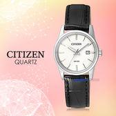 CITIZEN 星辰 手錶專賣店 EU6000-06A 石英錶 女錶 皮革錶帶 礦物玻璃  防水50米