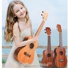 音樂玩具尤克裏裏女孩小吉他男孩六弦初學者兒童玩具樂器學生成人烏克麗麗 阿卡娜