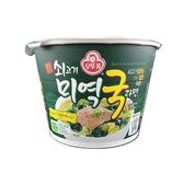 韓國不倒翁 牛肉風味海帶湯拉麵(碗裝)100g  【小三美日】泡麵/進口/團購