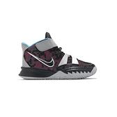 Nike Kyrie 7 (PS) 中童 黑 銀 魔鬼氈 反光 避震 運動 籃球鞋 CT4087-008