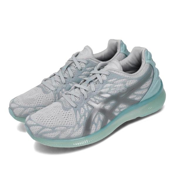 Asics 慢跑鞋 Gel-Quantum Infinity 2 灰 藍 女鞋 運動鞋 【ACS】 1022A161020