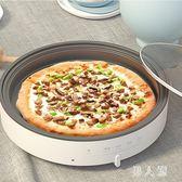 電餅鐺家用新款烙煎餅鍋加深加大可視化電餅鐺 QW9169『男人範』