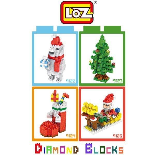 LOZ 迷你鑽石小積木 聖誕節 系列 樂高式 組合玩具 益智玩具 原廠正版 大盒款
