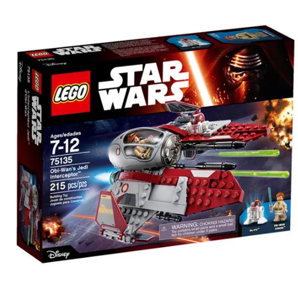 LEGO 樂高 Star Wars 星際大戰 歐比王 絕地戰機 Obi-Wan's Jedi 75135