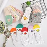 襪子女短襪船襪女純棉淺口隱形硅膠防滑襪夏季薄款韓國可愛學院風