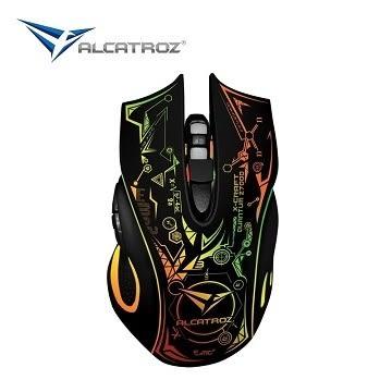 [富廉網] 【Alcatroz】星際幻彩USB精密光學有線電競滑鼠 二代新款 Z7000