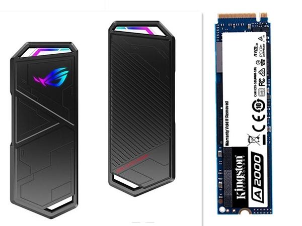 華碩 ASUS ROG Strix Arion 外接盒+金士頓 A2000 500G SSD 組合包【刷卡含稅價】