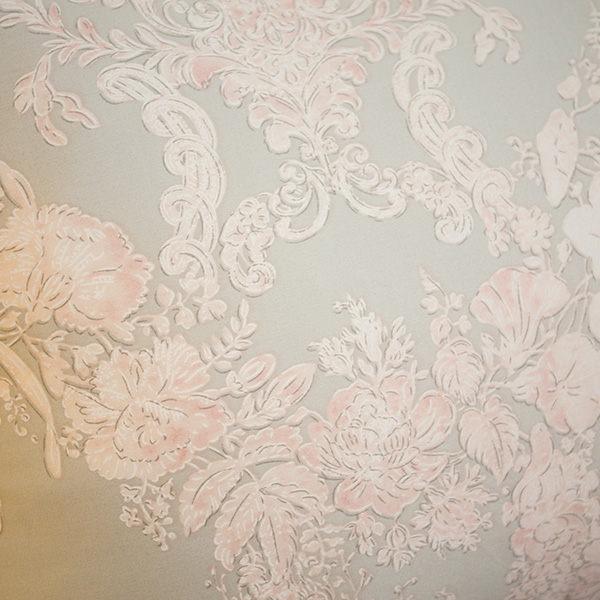 天絲床組  胡桃木花園  QPM4雙人加大鋪棉床包鋪棉兩用被四件組(40支) 100%天絲 棉床本舖