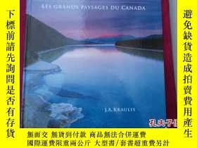 二手書博民逛書店Grand罕見Landscapes of Canada  Les grands Paysages Du Canad