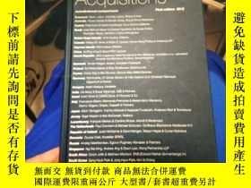 二手書博民逛書店Mergers罕見& Acquisitions 2012Y365