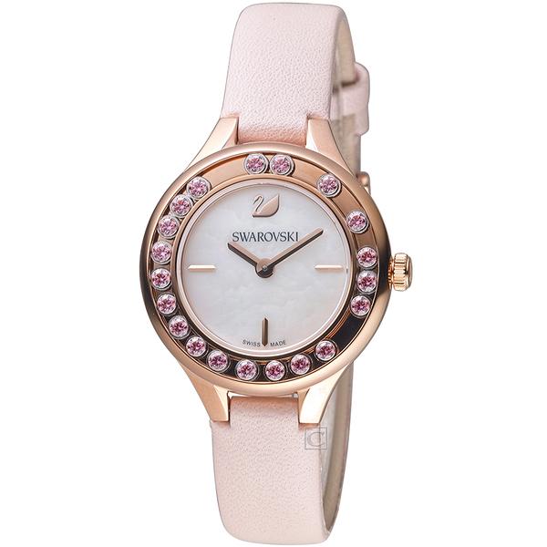 施華洛世奇SWAROVSKI Lovely Crystals Mini 低調奢華飄鑽魅力腕錶 5376089