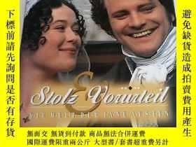 二手書博民逛書店Stolz罕見Vorurteil. Die Welt der Jane Austen(傲慢與偏見 電影劇照)Y