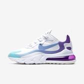 Nike W Air Max 270 React [AT6174-102] 女鞋 運動 休閒 氣墊 避震 舒適 白藍