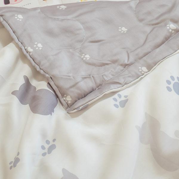 夏日熱銷款 天絲兒童涼被-小貓貓 (40支)  100%天絲 棉床本舖