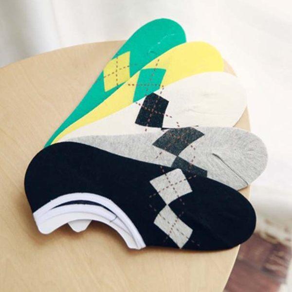 襪子【FSM013】英格蘭紋男生船型短襪 短襪 運動襪 條紋襪  純棉 毛巾襪 船型襪 男女襪 -123ok