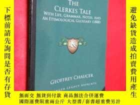 二手書博民逛書店The罕見Clerkes Tale: With Life, Gr
