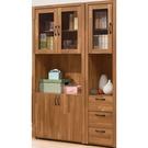 書櫃 書櫥 QW-529-34 克里斯3.9尺書櫃【大眾家居舘】
