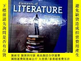二手書博民逛書店Elements罕見of LITERATUREY204315 Elements of LITERATURE E