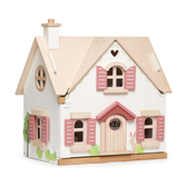 【美國Tender Leaf Toys】棉尾兔溫馨小屋(北歐鄉村風娃娃屋)