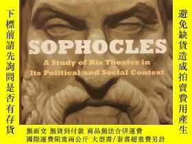 二手書博民逛書店Sophocles:罕見A Study of His Theat