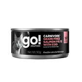 go! 德國貓罐-豐醬無穀海洋鮭鱈-90g