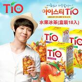 韓國 TIO 水果冰茶 (盒裝) 水蜜桃冰茶 檸檬冰茶 朴有天冰茶 沖泡飲品 冰茶 茶飲 韓國飲料