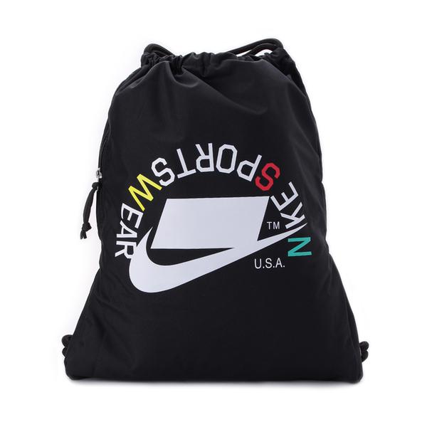 NIKE HERITAGE GYMSACK 束口袋 黑白 BA5431-019 鞋全家福